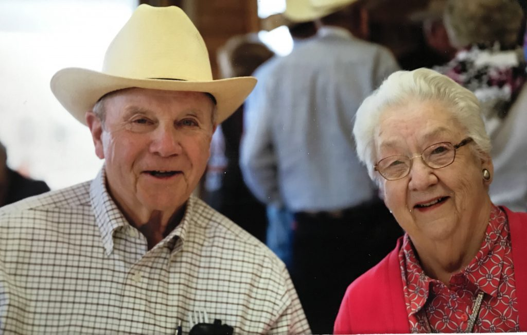 Mr. Bob & Mrs. Bonnie; equine feed suppliers to greatness.